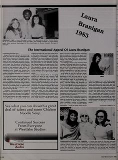 Laura 1985, the international appeals