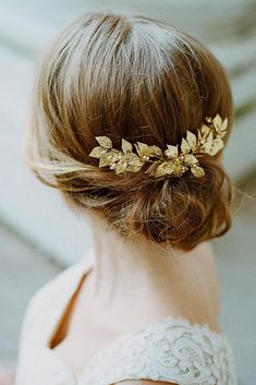 Gorgeous Prom Hairstyles for Short Hair You Might Love ★ See more: http://glaminati.com/gorgeous-prom-hairstyles-for-short-hair-love/