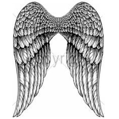 Angel Wings (Light colors only) Back Tattoo Women, Back Tattoos, Future Tattoos, Small Tattoos, Sleeve Tattoos, Wing Tattoos, Angel Wings Drawing, Cross Drawing, Lowrider Art
