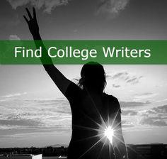 Find College Essay Writers