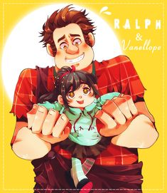 Wreck it Ralph by Neire-X.deviantart.com - Ralph n' Vanellope