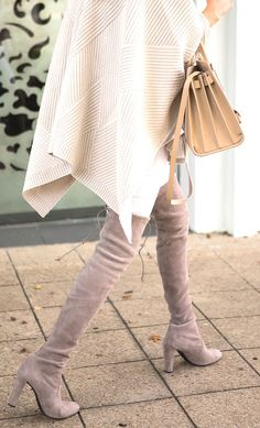 9e43b7a69af Stuart Weitzman Highland boots in taupe