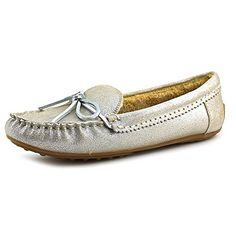 ad5730384e1 Lucky Womens Aligabe SlipOn Loafer SilverGrey 75 M US   Read more at the  image link.