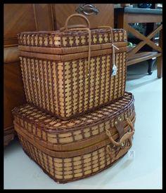 Great Vintage Picnic Baskets