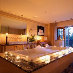 We can see ourselves relaxing here on a #Friday night! #dreambathroom