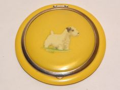 Vintage Art Deco Sealyham dog