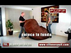 ▶ Sofa cama puff - YouTube
