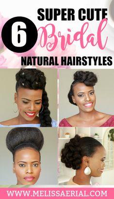 2019 natural hair bridal hairstyles for black women Protective Hairstyles For Natural Hair, Natural Hair Updo, Natural Hair Care, Natural Hair Styles, Relaxed Hairstyles, Medium Hair Styles, Curly Hair Styles, High Hair, Special Occasion Hairstyles