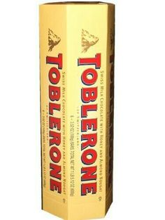 Toblerone Swiss Milk Chocolate with Honey and Almond Nougat, Bars (Pack of Toblerone Chocolate, Swiss Chocolate, Chocolate Brands, Chocolate Sweets, I Love Chocolate, Candy Recipes, Gourmet Recipes, Happy Birthday 18th, Bad Room Ideas