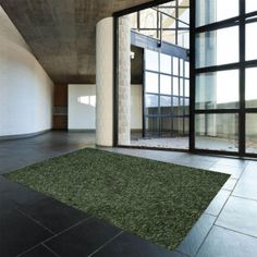 Cream Rug by Theko Color Blending, Uni, Living Spaces, Modern, Green, Rug Features, Design, Easy, Home Decor