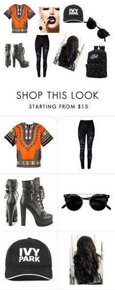 """""""Husler"""" by jennaylime on Polyvore featuring Luichiny, Ivy Park and Vans"""