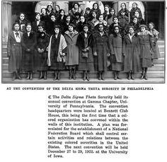 At the Annual Convention of Delta Sigma Theta Sorority in Philadelphia - 1922, via Flickr.