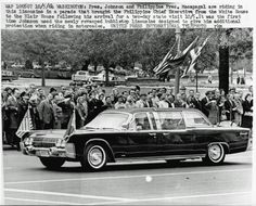 LBJ and the JFK death car refurbished