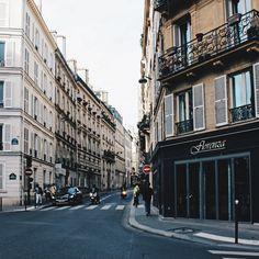 Paris, France. Street, building, architecture.