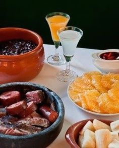 Have the feijoada at the Casa da Feijoada in Ipanema. The traditional black-bean stew is Brazil's national dish customarily eaten on Saturdays but served every day at this establishment. Wash it down with a caipirinha, the national drink.