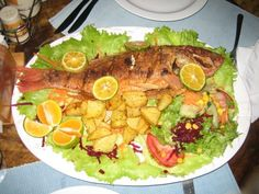 The whole fish...  ~Samara, Costa Rica