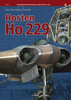 Shipping after April 22 Horten Ho 229 Marek J. Murawski, Marek Ryś ISBN 978-83-65437-15-0 Aircraft described as flying wing have aroused interest of the designers since the early, pioneer years of aviation. This definition is used to describe aircraft with specific design solutions, allowing for resignation from conventional vertical and horizontal empennage and primarily from conventional fuselage. Virtually the whole airframe comprises only the wing, housing both the cockpit and powerp