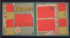 """Bloom layout by LaJeania Hicks - with a perfectly aligned """"crooked"""" feel thanks to the KellyCraft™ Get-it-Straight™ Laser Square - http://kellycraftblog.blogspot.com/2015/06/bloom-crooked-layout-by-lajeania-hicks.html"""