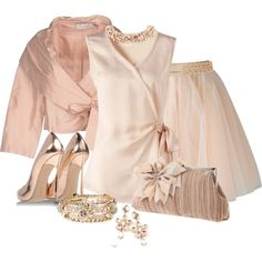 """Peach Dream"" by tinayar on Polyvore"