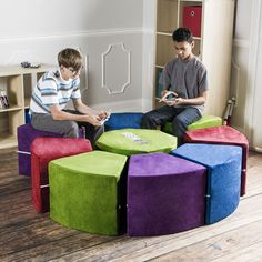 Jaxx Octagon Arrangement Kids Novelty Chair