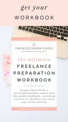 Prepare yourself for your freelance career with this helpful and actionable workbook, filled with tips, templates and checklists.