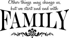 Family first! Everything else last~ (Unless it's food then sign me up o3o)