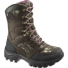 Wolverine Womens Panther 8 Inch Boot Dark BrownMossy Oak 55 M US ** You can get additional details at the image link.(This is an Amazon affiliate link and I receive a commission for the sales)