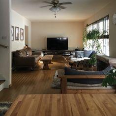 tomowithdogさんの、男前,DIY,観葉植物,部屋全体,のお部屋写真