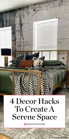 Interior designer Rachel Cannon shares her insight for crafting the a calm, serene space with introverts in mind. Read on for her tips for carving out the perfect sanctuary within your home. Serene Bedroom, Modern Bedroom, Bedroom Decor, Bedroom Inspo, Bedroom Ideas, Master Bedroom, Apartment Living, Apartment Therapy, Calming Paint Colors