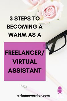 Becoming a work at home mom doesn't just have to be a dream. You can quit teaching for good and get started making money from home TODAY. On today's episode of the Ditch the Classroom podcast, I'm sharing 3 steps to become a WAHM as a Virtual Assistant so you can leave teaching and replace your teaching income faster. If you're ready to ditch the classroom for good, spend more time with your kids, and become a freelancer and/or virtual assistant while working from home, then this is for you. Work From Home Moms, Make Money From Home, Make Money Online, How To Make Money, How To Become, Home Based Business, Business Tips, Virtual Assistant Services, Successful Online Businesses