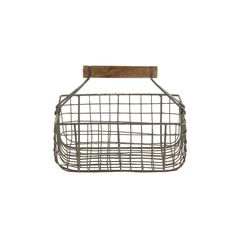 Discover the Nkuku Alama Square Basket - Gray/Cream at Amara