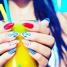 Because it is summer in naildesigns.com