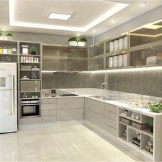 Cozinha por Carol Cantelli - design Milton C. Junior - arquiteto Dourados | MS…