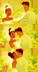 "THIS IS MY DISNEY OTP.  ""You just kissed yourself a princess!""  ""And I'm about to do it again"" ahaha~ so awesome! <3  Tia and Naveen, don't ever stop being amazing. <3 <3 <3"