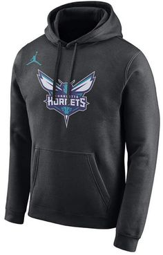 size 40 9fd43 7dc91 Men s Charlotte Hornets Essential Logo Pullover Hoodie