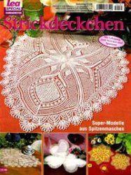 Lea special handarbeiten LH 185 2005 Strickdeckchen