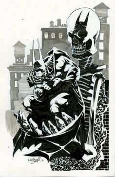 Batman by Kelley Jones