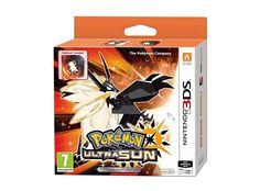 The video game Pokemon Ultra Sun for the Nintendo 3DS, Nintendo 2DS, New Nintendo 3DS and New Nintendo 2DS consoles. Return to Alola with an alternate story, catch known legendary Pokemon and discover many new additions! Edition with a collector's steelbook case for the game.