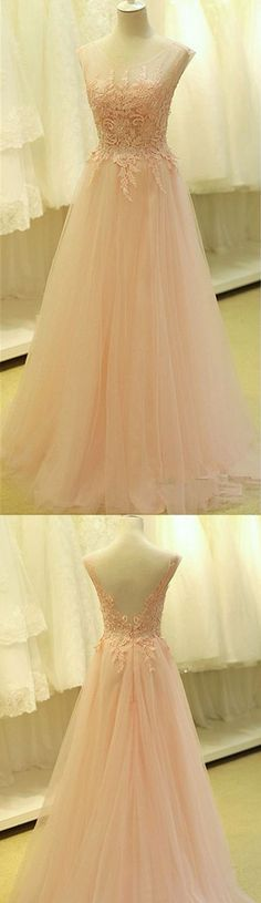 Elegant prom dress, long prom dress, gorgeous prom