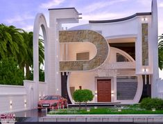 The first step to being taken before giving early in its construction is to research enough to have new ideas on how to be your home if you are looking Best Modern House Design, Classic House Design, Modern Exterior House Designs, Design Your Dream House, Modern Architecture House, House Outside Design, House Gate Design, Bungalow House Design, House Front Design
