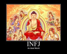 INFJ comprises of only 1% of the population (Myers Briggs Personality Test)