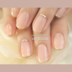 Pin by Park Shin Hye on ネイル in 2020 Bridal Nails, Wedding Nails, Nail Manicure, Toe Nails, Nurse Nails, Self Nail, Strong Nails, Girls Nails, Luxury Nails