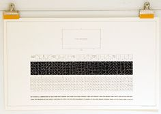 Container List: Sol LeWitt's conceptual graphics