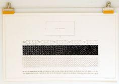 Container List: Sol LeWitt's conceptual graphics