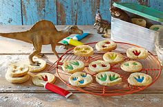 Get your roooaaarrrr on with these creative dinosaur biscuits. Find out how to make these at Tesco Real Food.