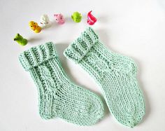 Kids knit socks Hand knit socks Knitted kids socks Knit kids socks Winter knit socks Cotton kids socks Bamboo knit socks Kids cable socks