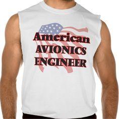 American Avionics Engineer Sleeveless Shirt Tank Tops