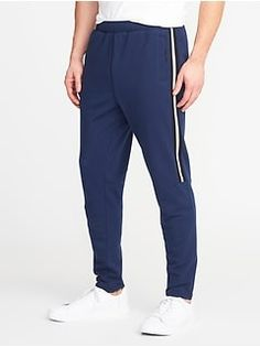 Go-Dry Built-In Flex Mesh-Stripe Track Pants for Men - oldNavy Mens Activewear, Shop Old Navy, French Terry, Active Wear, Sweatpants, Track, Mesh, Women, Fashion