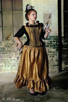 steampunk corset jacket plus size fashion