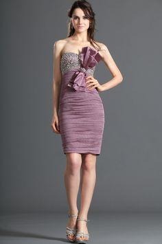 eDressit Strapless Shiny Beadings Cocktail Dress Party Dress